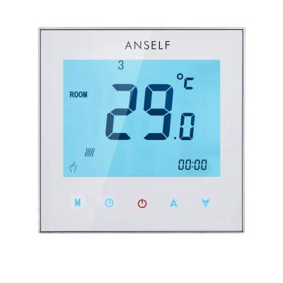Anself 3A 110-230V programmabile settimanale Display LCD Touch Screen Acqua riscaldamento termostato Room Controller temperatura