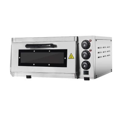 Professional Pizza Oven with 400 X 400 mm alla Pietra refrattaria Back Surface