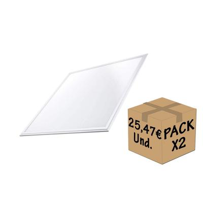 Factorled Pack 2 X pannello LED 60 x 60 cm 40 W