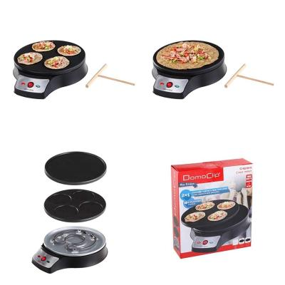 2 in1 Crepe Maker 26 cm Back dispositivo Crepes 1000 W